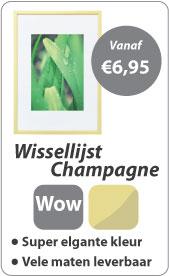 Wissellijst Champagne