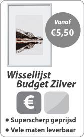 Wissellijst Budget Zilver