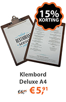 Klembord Deluxe a4
