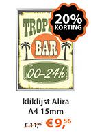 Kliklijst Alira A4 15mm