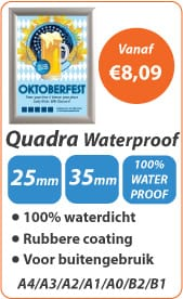 Kliklijsten Quadra Waterproof